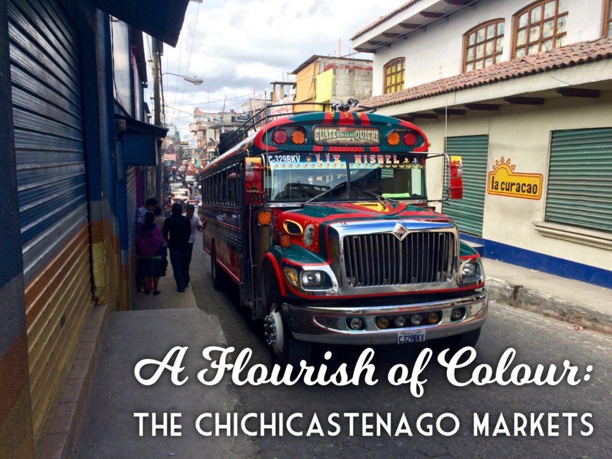 A Flourish of Colour at the Chichicastenango Markets, Guatemala
