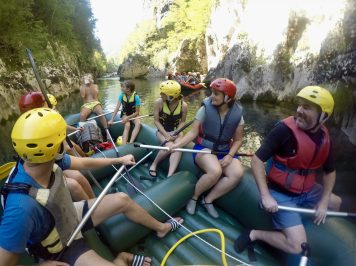 Neretva River rafting review raft kor
