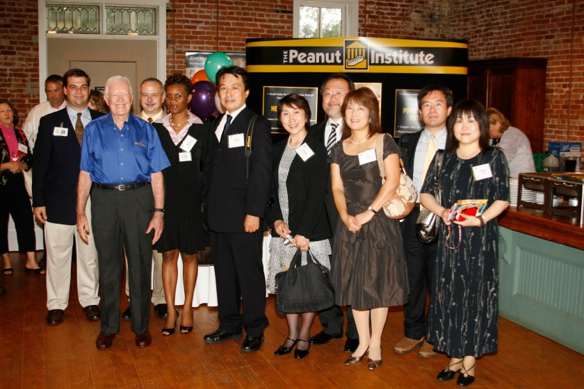 Japan Journalists with Carter