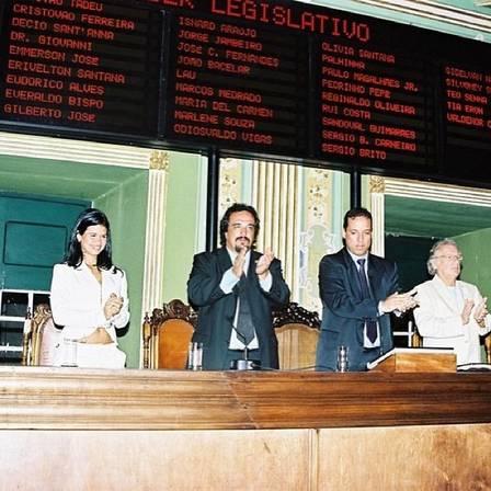 Milena teixeira na Câmara de Vereadores de Lauro de Freitas