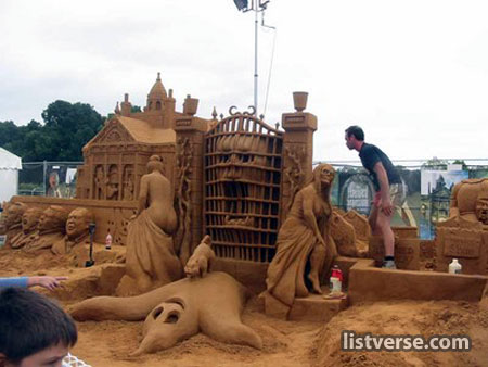  Amazing Sand Sculpture