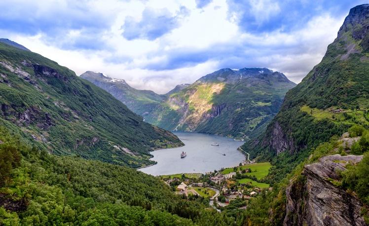 10. Geiranger Fjord, Norway