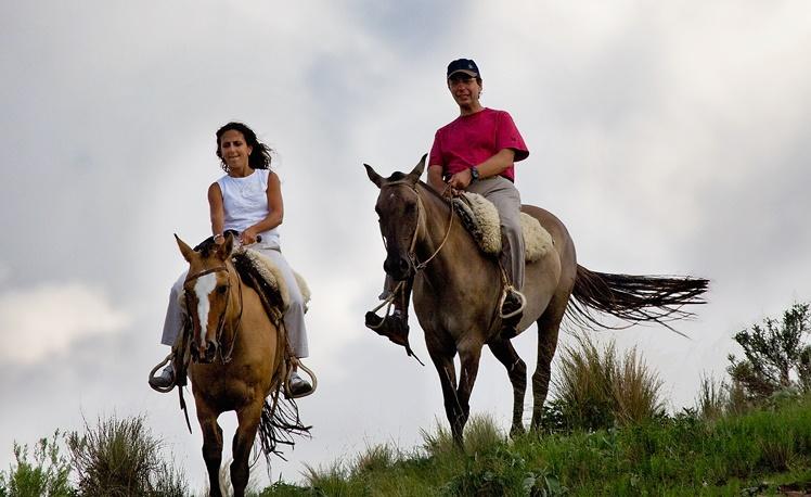 4. Horse riding