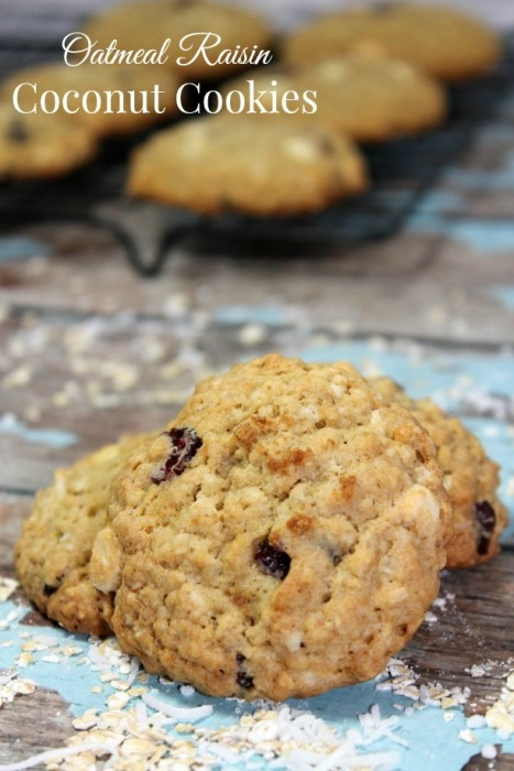Oatmeal Raisin Coconut Cookies | Our Family World