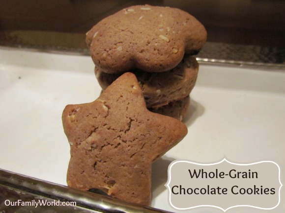 Whole Grain Chocolate Cookies | Our Family World