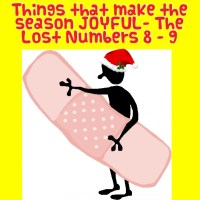 Things that make the season JOYFUL- The Lost Numbers 8 - 9
