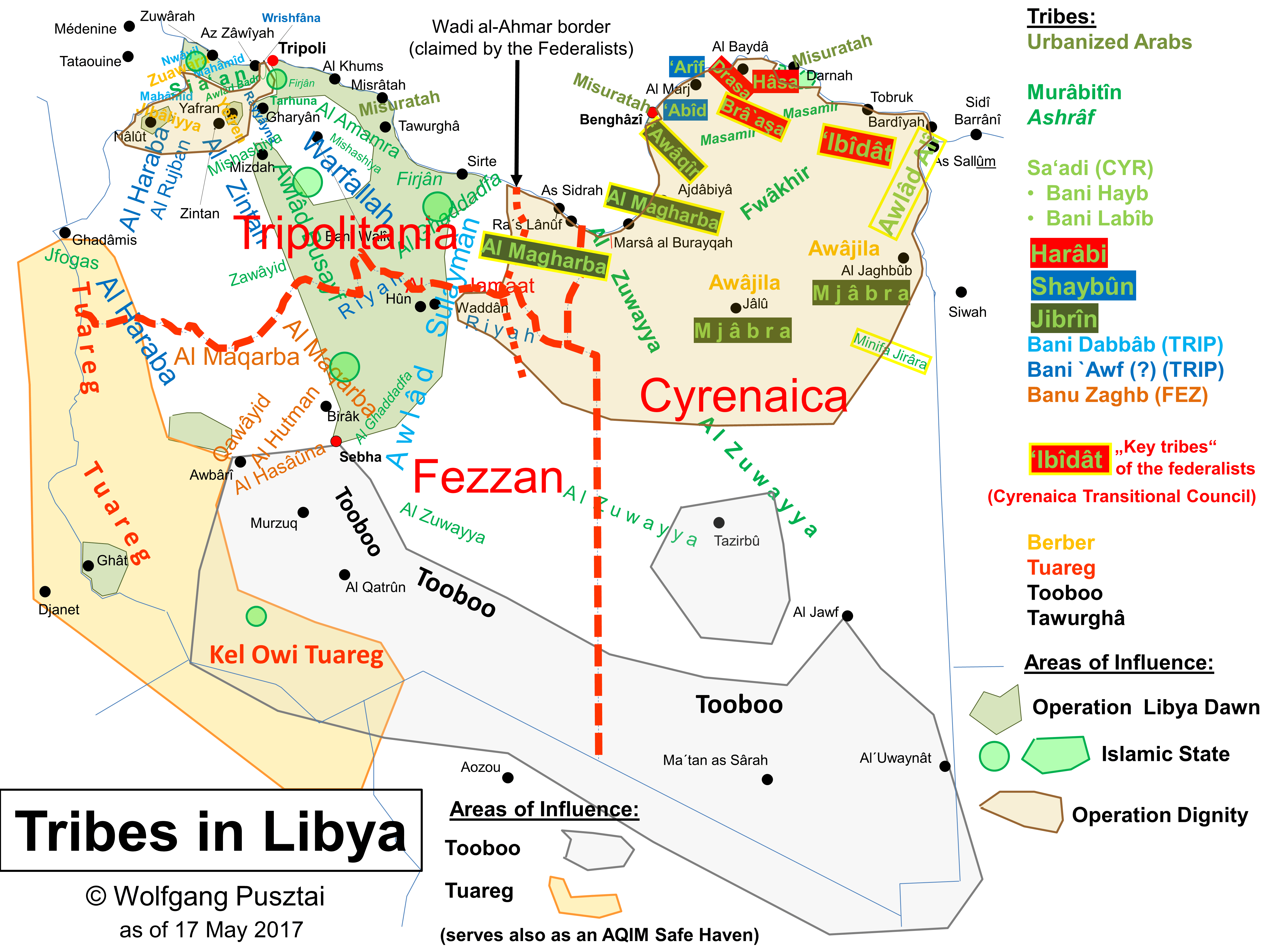 Other Maps Eye on ISIS in Libya