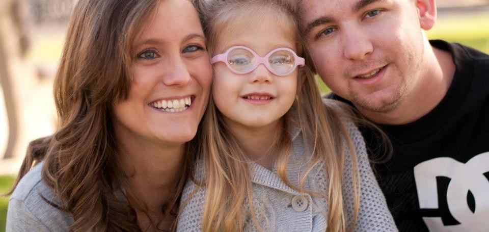 Jacqueline & Isabella - Bilateral congenital cataracts, & glaucoma