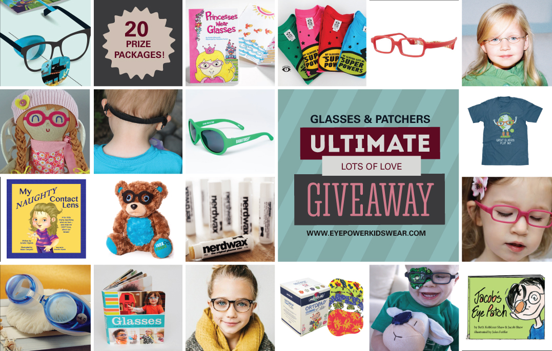 ULTIMATE GLASSES AND PATCHING GIVEAWAY!