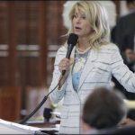 Democrat Wendy Davis Marathon Filibuster for Women's Rights in Texas