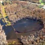 Massive Sinkhole Threatens Community, Swallows Multiple Trees in Louisiana – Video