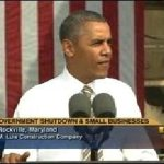 President Obama Slams Republicans on Their Government Shutdown – Video