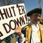 The Teaparty Energized by Government Shutdown