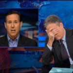 "Jon Stewart to Ignorant Santorum – ""Obamacare is NOT Apartheid!"""