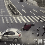 Caught on Camera: The Shocking Moment a Couple is Hit and  killed by a car