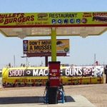 BULLETS AND BURGERS: WELCOME TO THE USA
