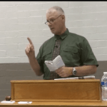 Police Sargent at Ferguson Protests Seen Addressing The OathKeepers Militia – Video