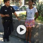 Black Actress Handcuffed By Police for Kissing Her White Husband