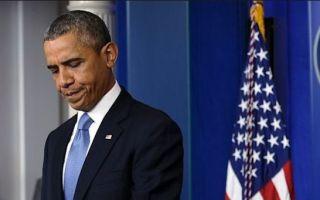 obama head down