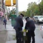 New York Cops on Ebola Detail Seen Dumping Gloves in Garbage – Video