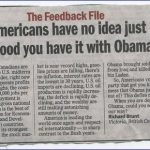 "From Canada – ""You Americans Have No Idea Just How Good You Have it With Obama"""