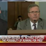 "Jeb Bush Announcement – He will ""Actively Explore"" a Run for the Presidency"