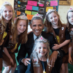 Yes, That Is a Picture of President Barack Obama Wearing a Tiara – PIC
