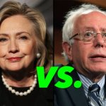 Hillary Clinton vs Bernie Sanders – Their Donors – CHART