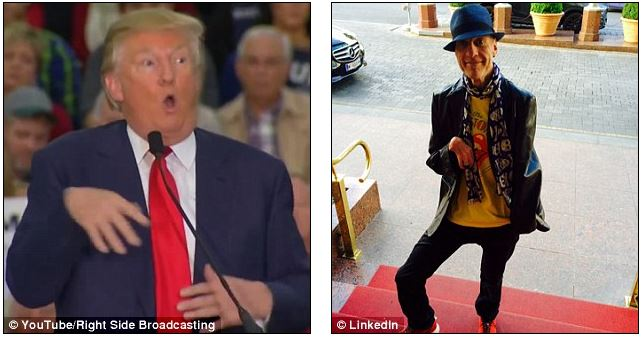 trump and reporter