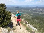 Montagne Sainte Victoire-début de la descente