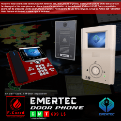 F-Guard Emertec Door Phone