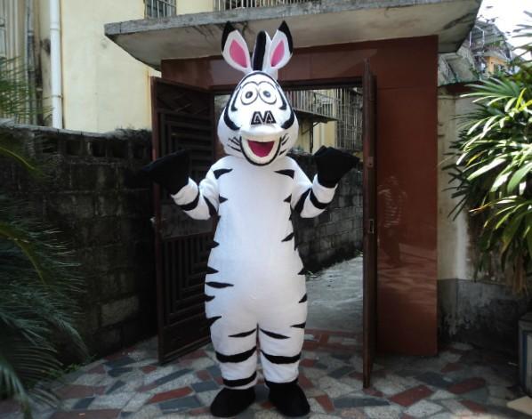 Marty - zebra - maskot