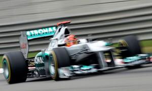 Schumacher—Shanghai 2012