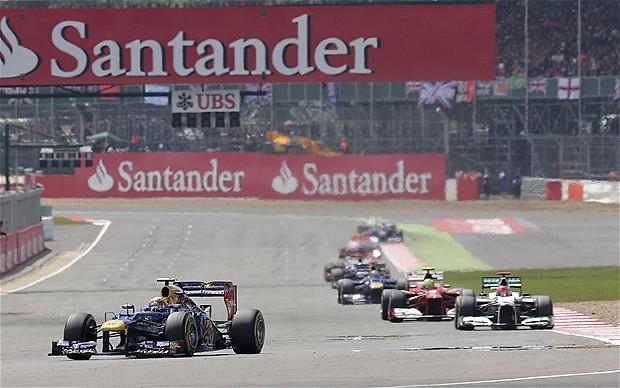 Webber—Silverstone 2012