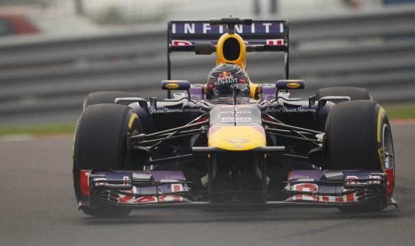 Vettel—India qualifying 2013