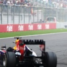 Vettel—India 2013 celebration