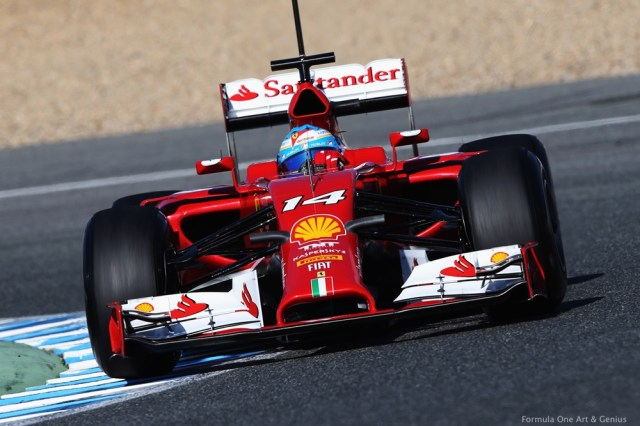 F14T—Jerez 2014 testing