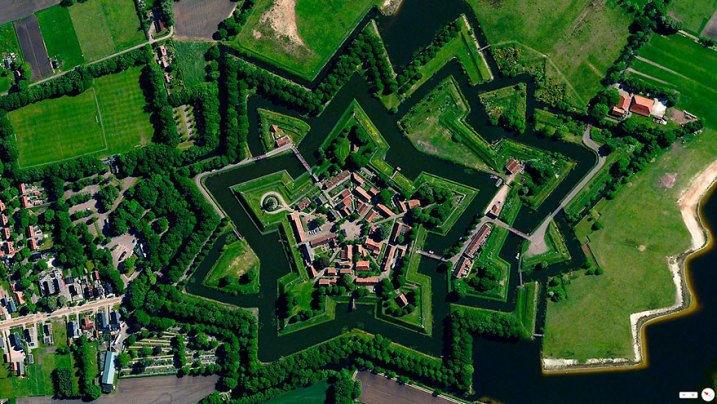 53.0066°N 7.1920°E: Bourtange, Vlagtwedde, Nederland