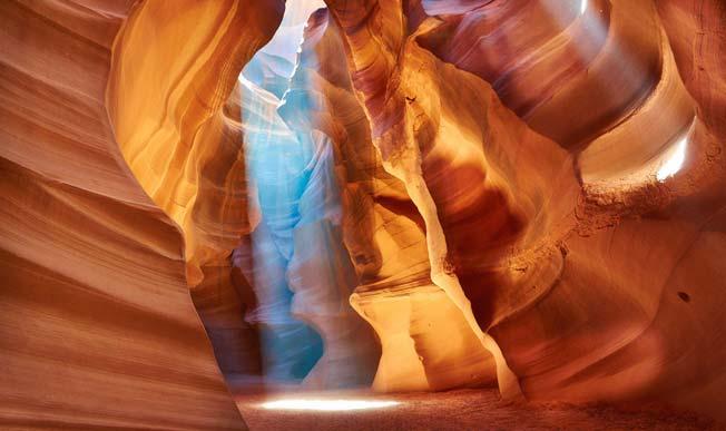 Antilope Canyon i Arizona