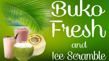 Buko Fresh and Ice Scramble
