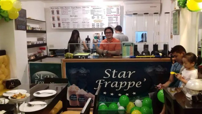 star frappe food stall