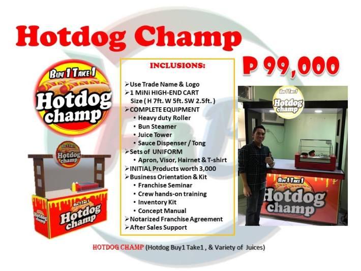 hotdog champ franchise