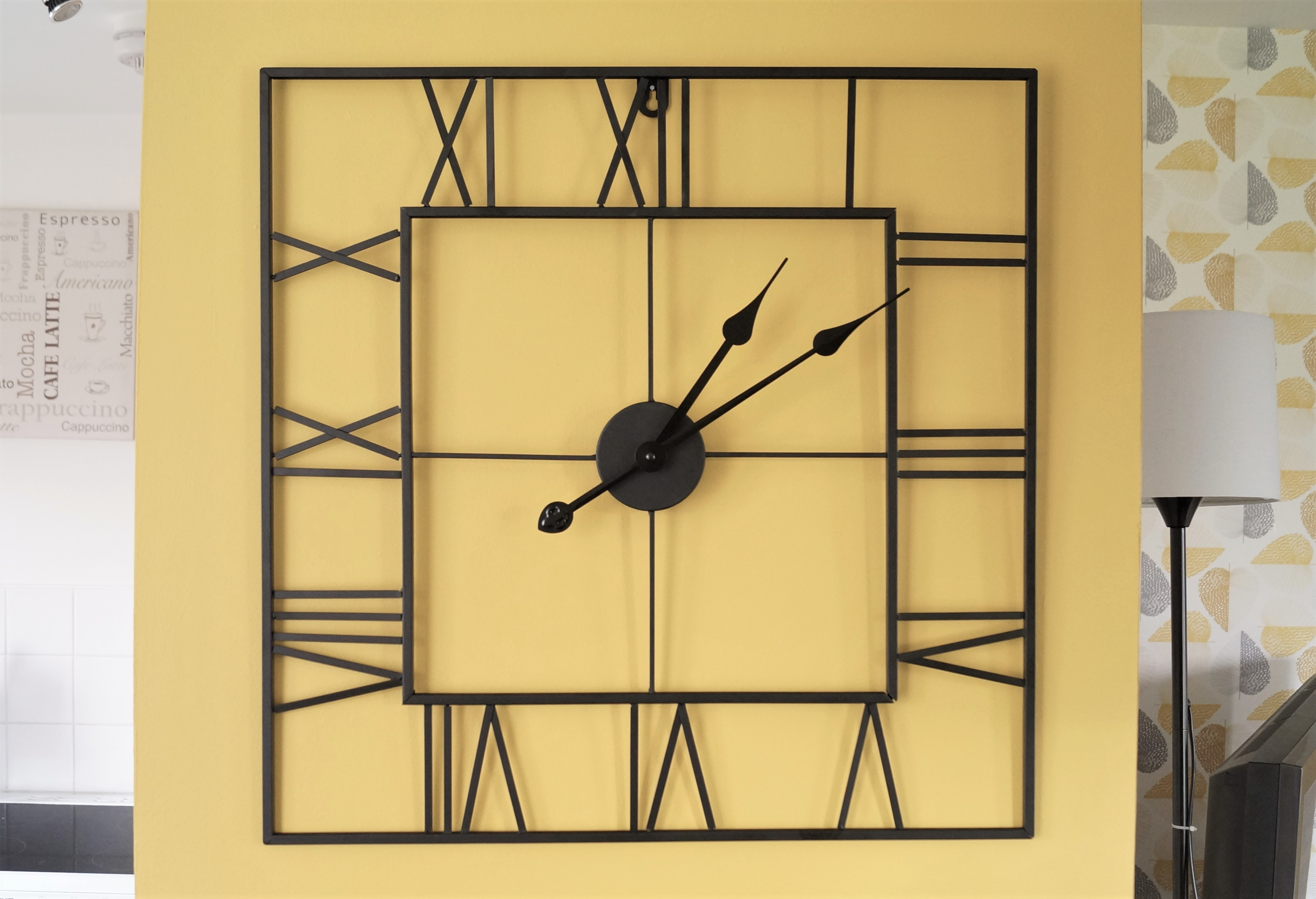Fullsize Of Large Square Clocks For Walls