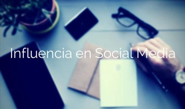influencia en social media