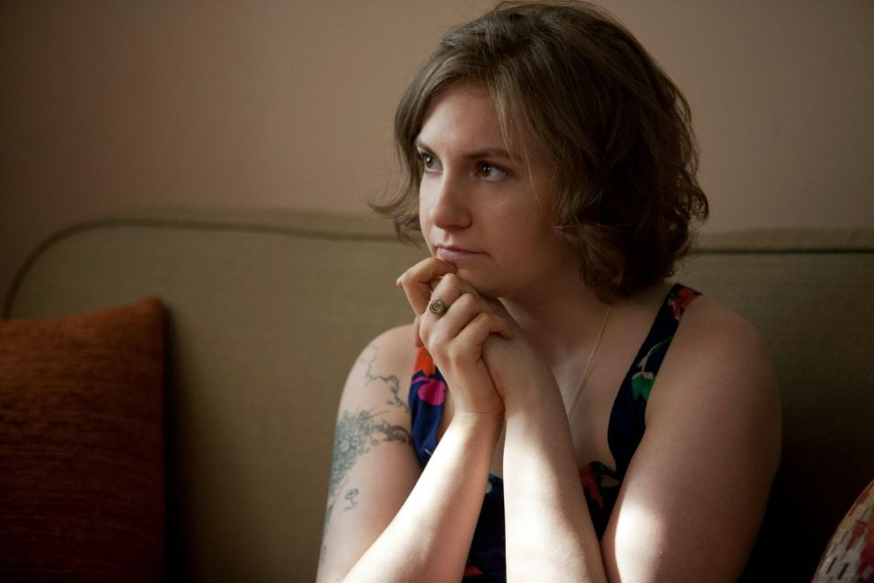 Hanna Horvath (Lena Dunham) in Girls