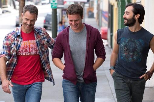Dom, Patrick und Agustin