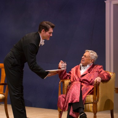 Hartford Stage - Nicholas Carriere and Brian Murray - Photo: T Charles Erickson