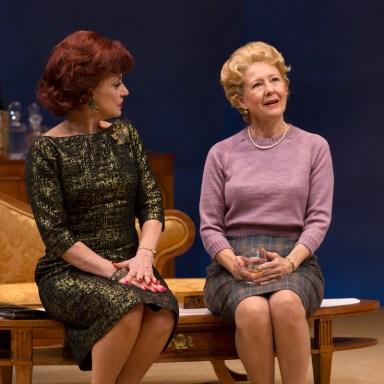 Hartford Stage - Gordana Rashovich and Mia Dillon - Photo: T Charles Erickson