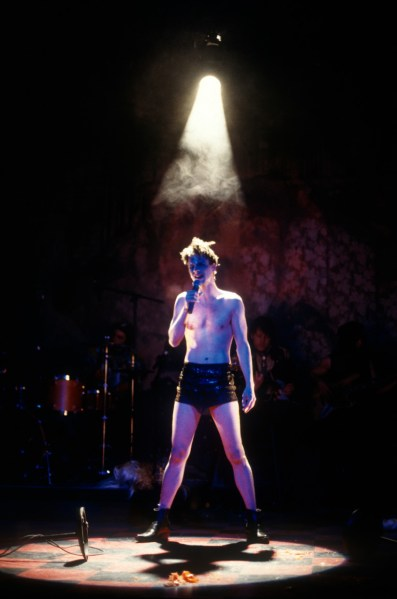 John Cameron Mitchell  - Jane Street Theatre - Original Production, NYC 1998 - Photo: Carol Rosegg