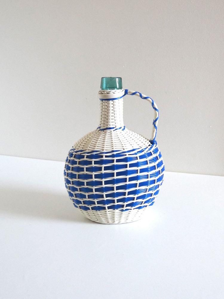 botellas trenzadas scoubidou vintage fabricadeimaginacion31